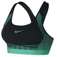 NIKE 2018 spring and summer new women's earthquake-proof gathering sports bra F-3A30-KDC Green