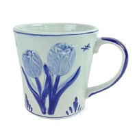 Deluxe Embossed Tulip Coffee Mug