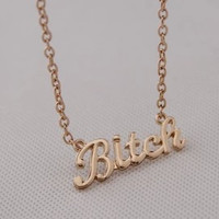 Trendy Tin Alloy Necklaces For Women N182