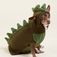 Kooky Pooch Dog Sweater in Dragon | Mod Retro Vintage Pet Accessories | ModCloth.com