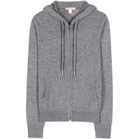 CASE HOODED CASHMERE CARDIGAN