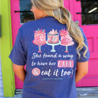 Jadelynn Brooke New Release Cake & Eat It To - Short Sleeve / Pocket Tee