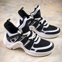 Louis Vuitton Sci-Fi LV Sci Fi Black White Sneakers - Best Online Sale