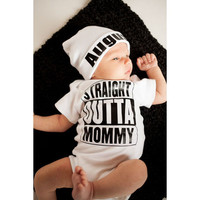 Baby Boy Rompers Summer Cotton Baby Girl Boy Short Sleeve Letters Printed Jumpsuits Newborn Baby Clothes