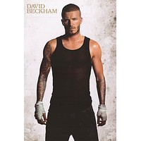 David Beckham Pin-Up Poster 24x36