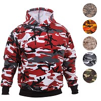 Rothco Camo Pullover Hooded Sweatshirt