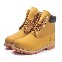 Timberland Woman Men Classic Retro waterproof Martin Boots Shoes
