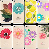 Girllove100  Spring brightness caged , flowers phone case for iphone 4 4s 5 5s 6 6s 6plus 7 7plus  (MT01-MT10)