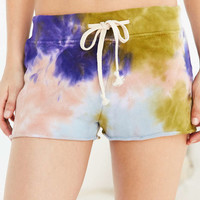 Out From Under Tie-Dye Terry Short - Urban Outfitters