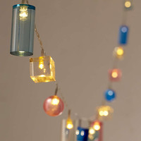 Acrylic Shapes String Lights - Urban Outfitters