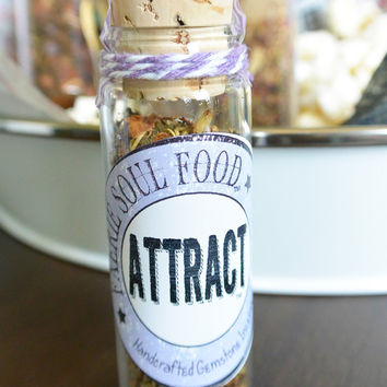ATTRACT Faerie Gemstone and Herbal Incense