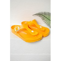 Gizeh EVA Birkenstocks | Scuba Yellow
