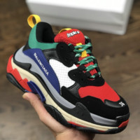Triple S BB Balenciaga Sneaker Clunky Shoes with BOX