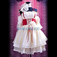 New Vocaloid - Aku no Musume Kagamine Rin Cosplay Costume any size
