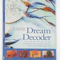 Dream Decoder: Reveal Your Unconscious Desires By Fiona Flaxman & Fiona Zucker- Assorted One
