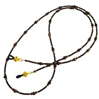 Dark Brown Eyeglass Lanyard
