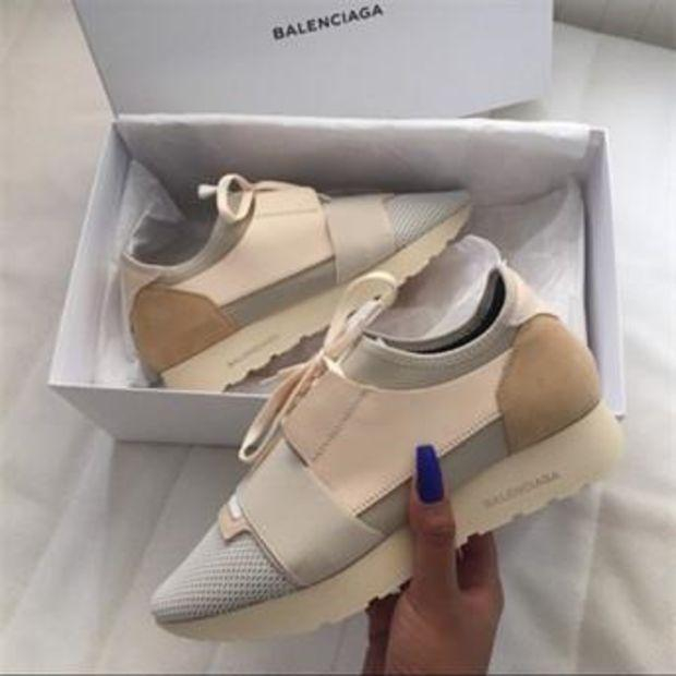 Image of BALENCIAGA Red Fashion Casual Race Running Sport Shoes G