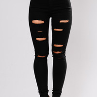 Brielle Skinny Jeans - Black