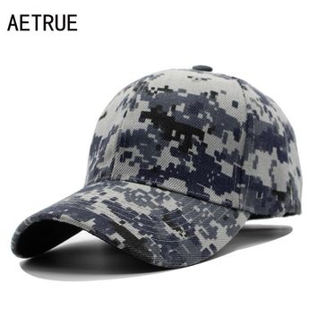 Trendy Winter Jacket AETRUE Fashion Baseball Cap Men Snapback Caps Women Brand Casquette Hats For Men Bone Gorras Embroidered Dad Camouflage Cap Hat AT_92_12