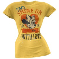 Minnie Mouse - Shine On Juniors T-Shirt