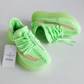 "adidas Yeezy Boost 350 V2 ""Glow in the Dark"" Toddler Kid Shoes Child Sneakers - Best Deal Online"