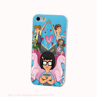 Bobs Burgers Tina Belcher Hard White Cover Case for iPhone 4 4s 5 5s 5c 6 6s Protect Phone Cases