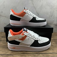 Morechoice Tuhy Nike Air Force 1 07 Lx White Red Denim Low Sneakers Casual Skaet Shoes DJ5174-100