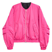 Reversible Bomber Jacket - from H&M