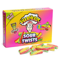 WarHeads Sour Twists 3.5-Ounce Theater Boxes: 12-Piece Case