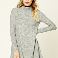 Contemporary Marled Knit Dress