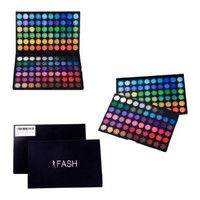 FASH Professional Bold, Bright and Vivid 120 Color Eyeshadow Palette Makeup Cosmetics