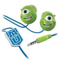 "Monster's U ""Mike Wazowski"" Scare and Wear Earbuds"