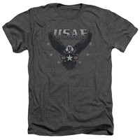 AIR FORCE/INCOMING-ADULT HEATHER-CHARCOAL