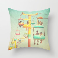Retro Ride Throw Pillow by SSC Photography