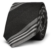 Givenchy - Striped Silk and Wool-Blend Tie | MR PORTER