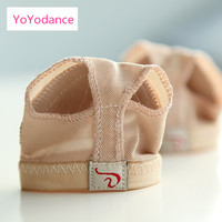 Professional Belly Ballet Dance Foot Thong Toe Pad Practice Shoes Metatarsal Forefoot Half Lyrical Foot Protection  6109