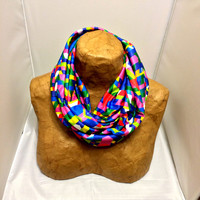Colorful Circle Scarf - Brooklyn Water Tower Infinity Scarf