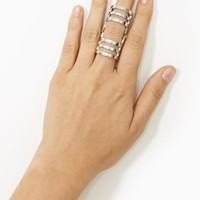 Metal Axis Ring