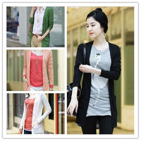 Fashion Womens Ladies Knitting Cardigan Sweater Long Sleeved Candy 4 Colors M-XXL = 1919935428