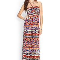 FOREVER 21 Southwestern-Inspired Halter Dress