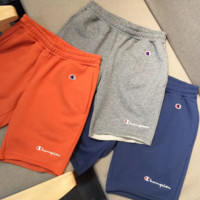 Champion men's and women's knitwear shorts