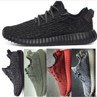High quality Sneaker Shoes Kanye Milan West Yeezy Boost 350 Classic Running Shoes Mens Fashion Sports Shoes With Box womens Casual