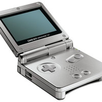 Gameboy Advance SP System (Platinum) AGS-001