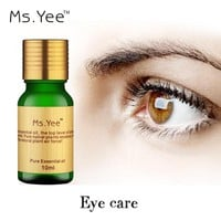 Best Beauty Care Eyes Essential Oil for Dark Circles Eye Bag Removal 100% Natural Plant Extract Eye Massage Oils Free Shipping