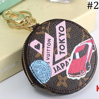 Louis Vuitton LV new coin purse coin bag keychain key ring car keychain F-MYJSY-BB #1