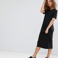 Weekday Column Midi Dress at asos.com