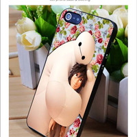 Baymax Flower iPhone for 4 5 5c 6 Plus Case, Samsung Galaxy for S3 S4 S5 Note 3 4 Case, iPod for 4 5 Case, HtC One for M7 M8 and Nexus Case
