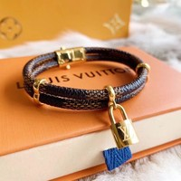 Louis Vuitton Lv Keep It Twice Monogram Bracelet | M6640f - Best Deal Online