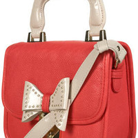 Coral Lady Stud Bow Bag - Bags & Purses - Accessories - Topshop