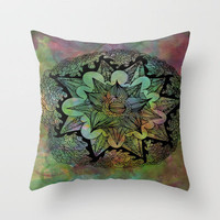 Tie-Dye Throw Pillow by LMMM   Society6